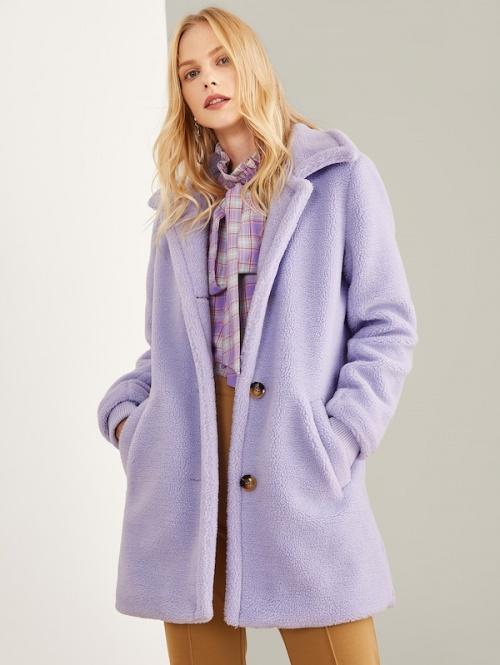 SHEIN - Manteau avec poches