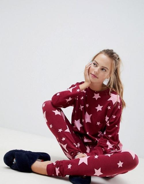 ASOS Design - Pyjama motif étoiles