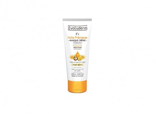 Evoluderm - Huile Précieuse Masque Crème Hydratante Visage