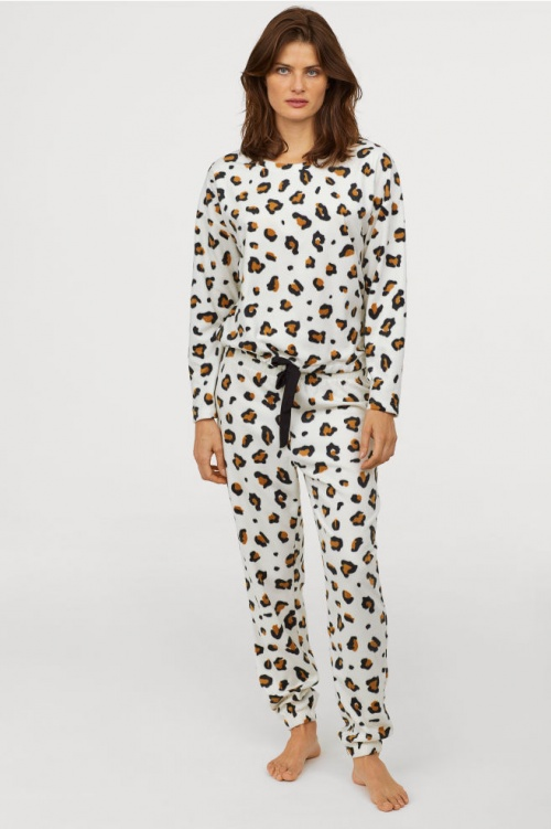 H&M - Pyjama en polaire