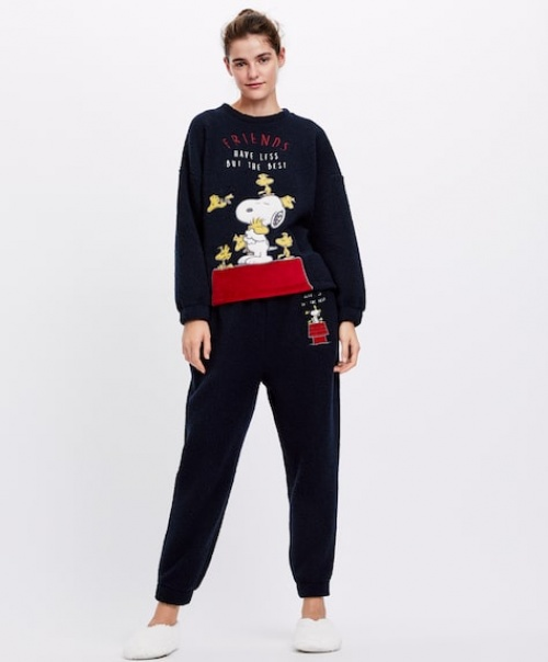 Oysho - Sweat Snoopy friends