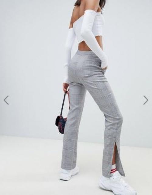 Na-kd - Pantalon d'ensemble ajusté à carreaux