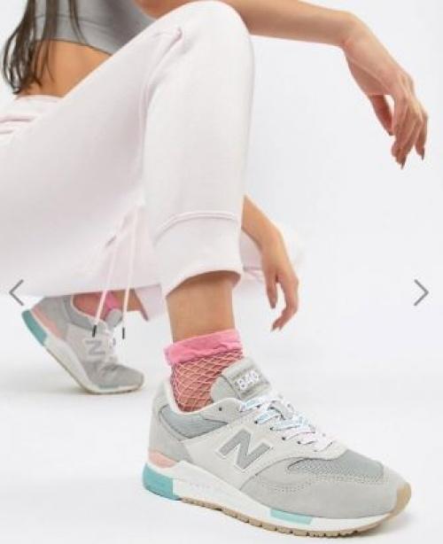 New Balance - 840 - Baskets à lacets avec logo