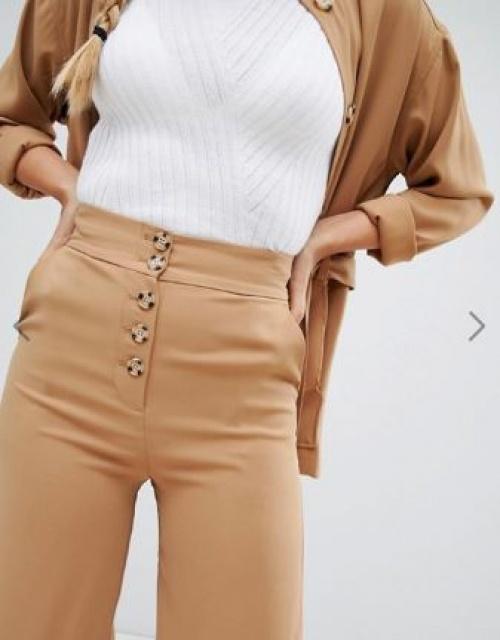 Monki - Pantalon large à poches