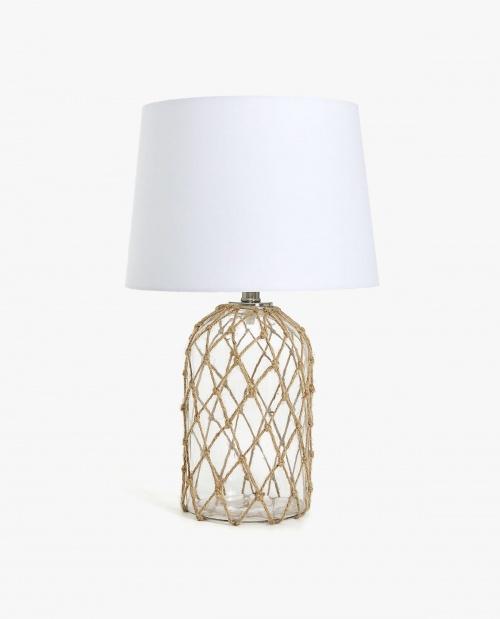 Zara Home - LAMPE AVEC ENTRELACEMENT DE JUTE