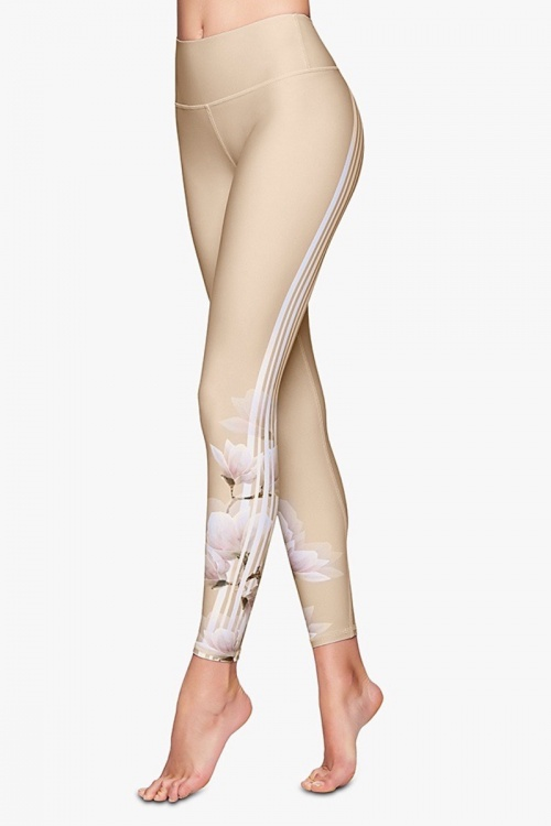 Body Language - Legging beige sculptant