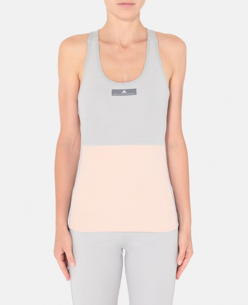 Stella McCartney - Débardeur yoga rose