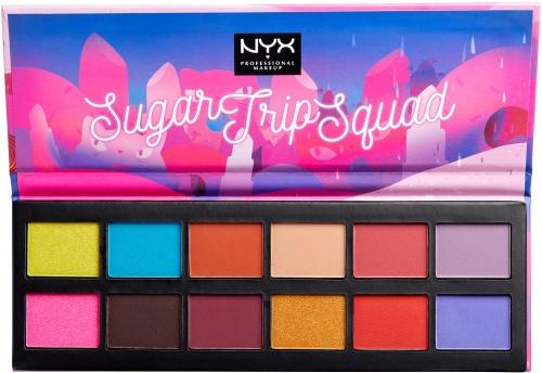 NYX - Sugar trip Squad Shadow Palette