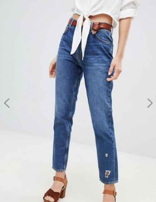 MiH Jeans - Mimi - Jean mom taille haute