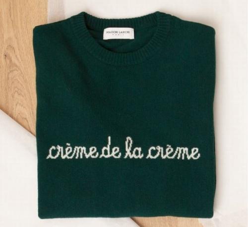 Maison Labiche - Pull Crème de la crème
