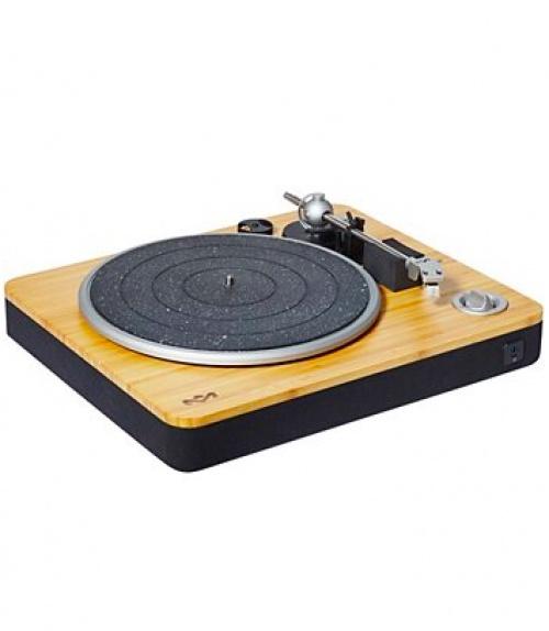 Marley - Platine vinyle armature bois