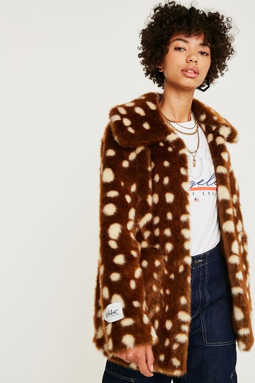 Jakke - Tammy Bambi Faux Fur Jacket