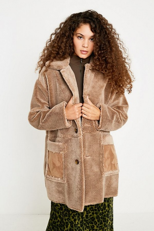 UO - Manteau imitation peau de mouton