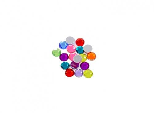 Pandawhole - Cabochons en acrylique strass dos plat