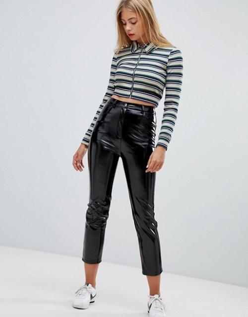 Emory Park - pantalon en vinyle