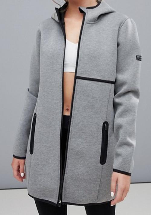 Asos - Veste longue style hoodie