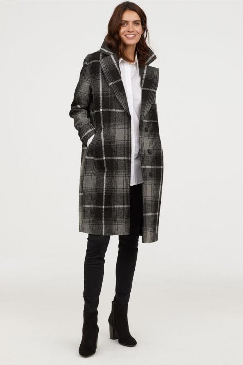 H&M - Manteau en feutre