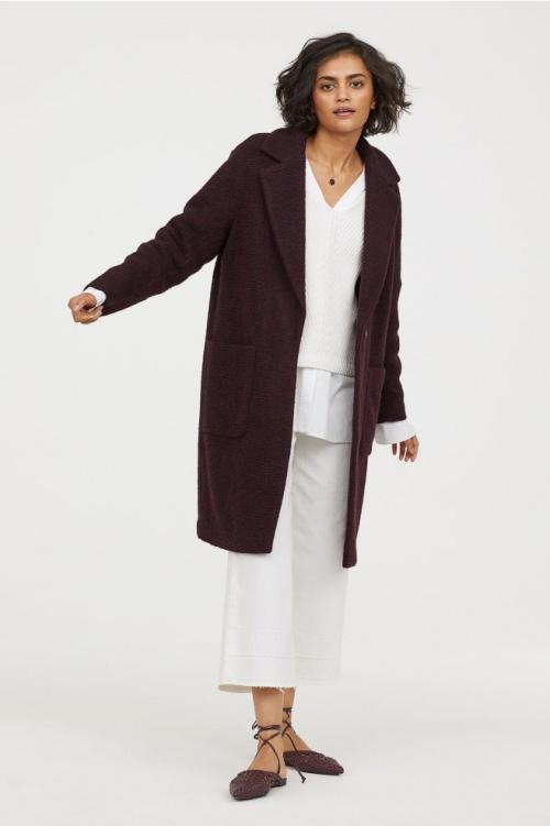 H&M - Manteau en laine mélangée