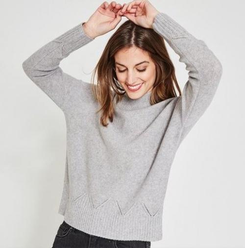 Promod - Pull cachemire et laine Femme