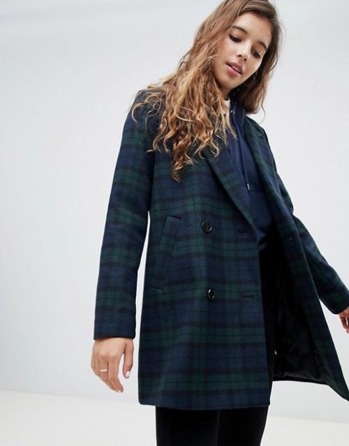 Pimkie - Manteau ajusté à carreaux