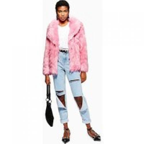 Topshop - Manteau luxueux en fourrure synthétique