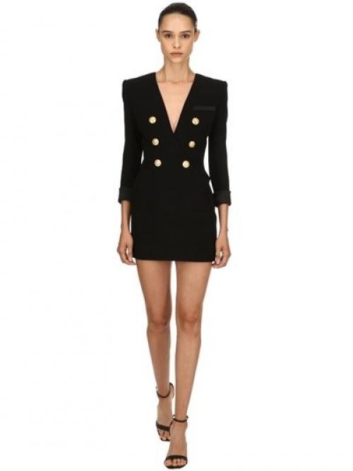 Balmain - Robe blazer