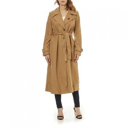 DESIGUAL - Manteau beige