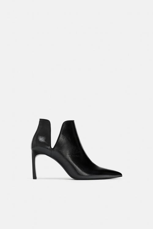 Zara - Boots à ouverture
