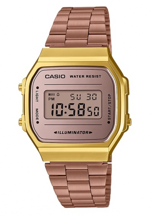 Casio - Montre vintage rose gold