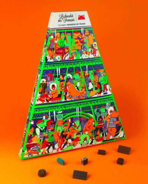 Le chocolat des français - Calendrier de l'Avent