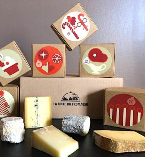 La boite du fromager - Calendrier de l'Avent