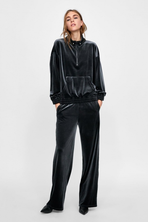Zara - Sweat à capuche