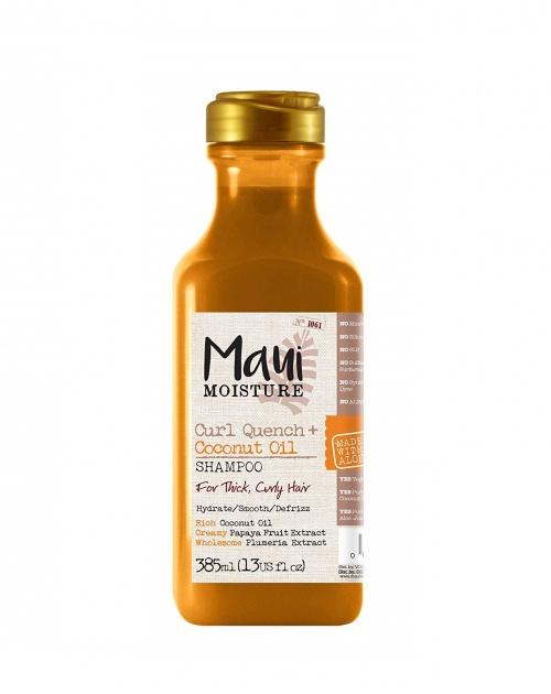 MAUI Moisture - Lot de 2 shampoings pour cheveux bouclés à l'huile de coco