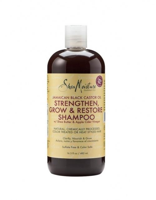 Shea Moisture - Shampoing fortifiant et réparateur