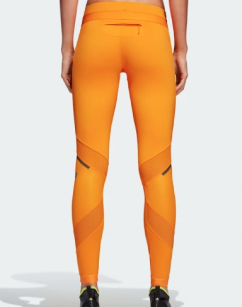 Stella McCartney - Shiny leggings jaune
