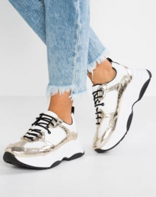 Topshop - CIARA CHUNKY TRAINER - Baskets basses