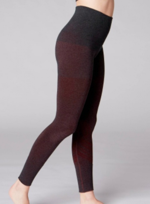 Domyos - Legging sans couture bordeaux chiné