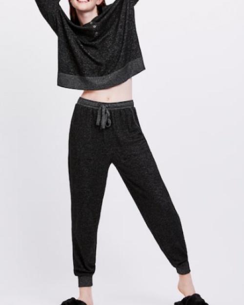 Oysho - Pantalon noir extra doux