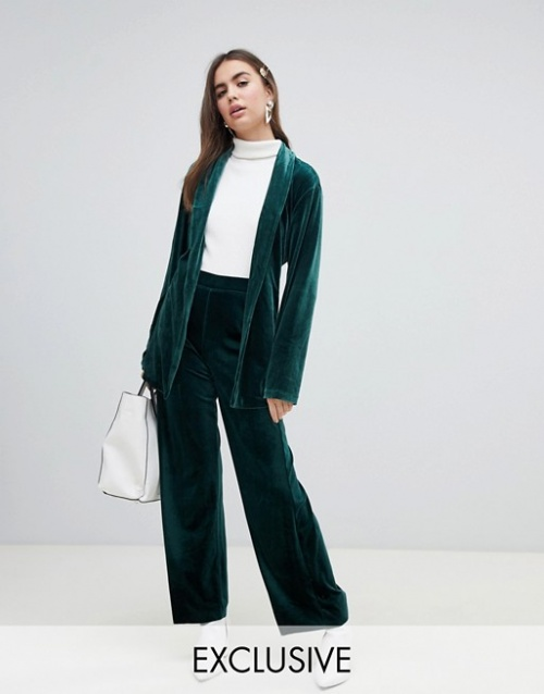 Monki - Pantalon en velours