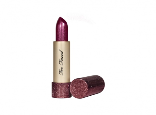 Too Faced - Throwback Metallic Sparkle Lipstick Bionic