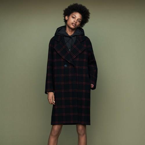Maje - Manteau à capuche
