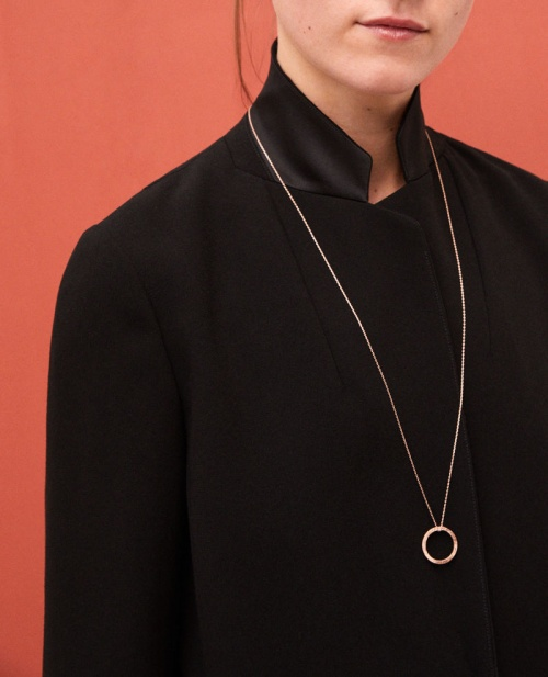 Comptoir des Cotonniers - Sautoir avec un pendentif rond