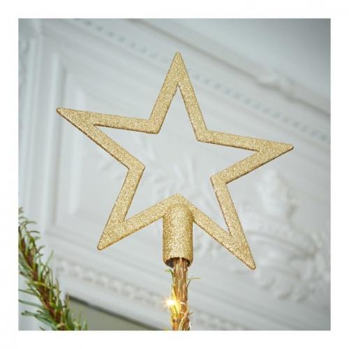 Monoprix - Cimier étoile à paillettes