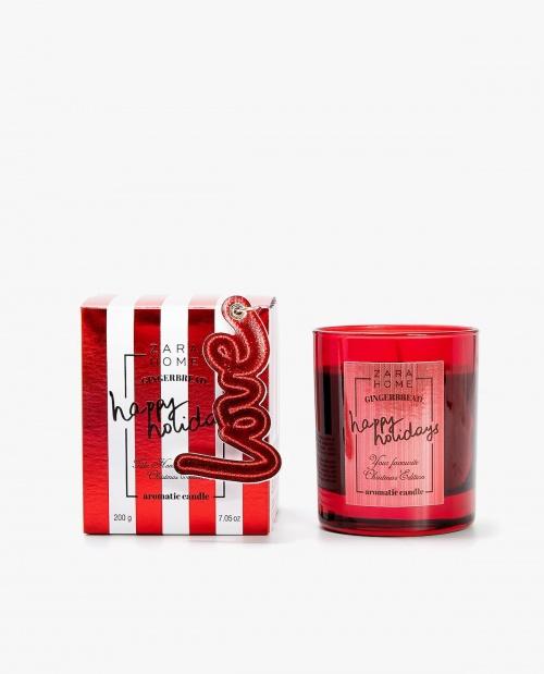 Zara Home - Bougie parfumée Gingerbread
