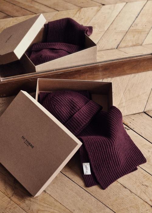 Octobre - Coffret écharpe et bonnet