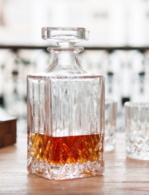 Les Raffineurs - Carafe à whisky en cristal