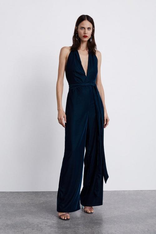 Zara - Combinaison en velours