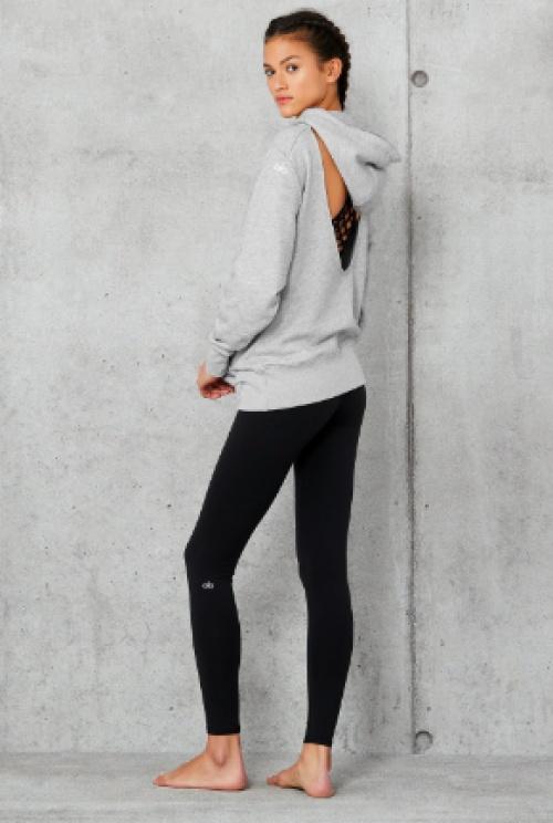 Alo yoga - Sweat dos nu