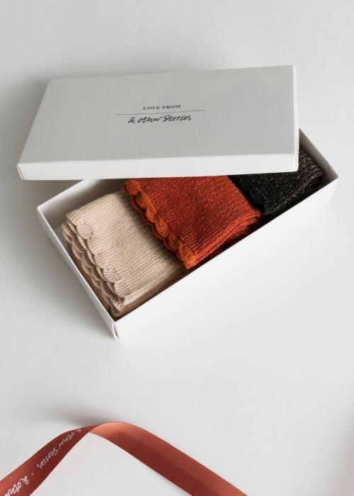 & Other Stories - Coffret de chaussettes pailletées