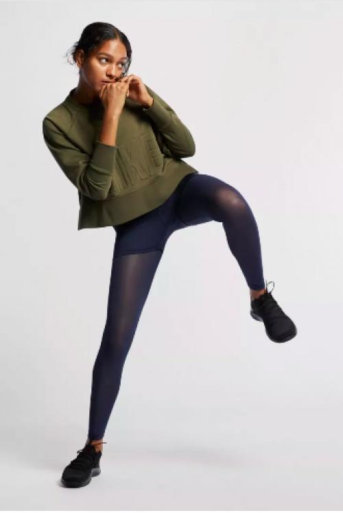 Nike - Haut de training court manches longues
